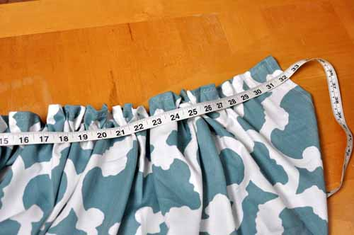 Measure The Sink Curtain
