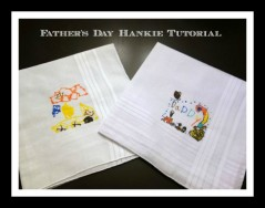 Dad Handkerchief Tutorial