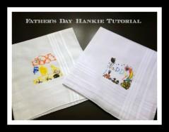 Dad Handkerchief Tutorial