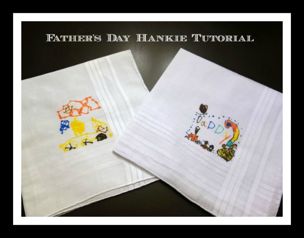 Father's Day Handkerchief Tutorial