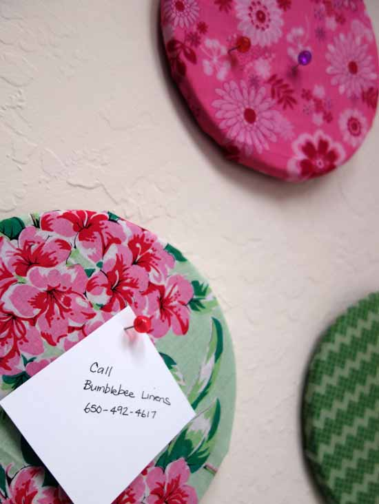 How To Make A Cute Fabric Cork Board Home Decor And
