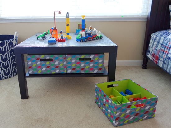 How To Make Your Own Lego Table Bumblebee Linens
