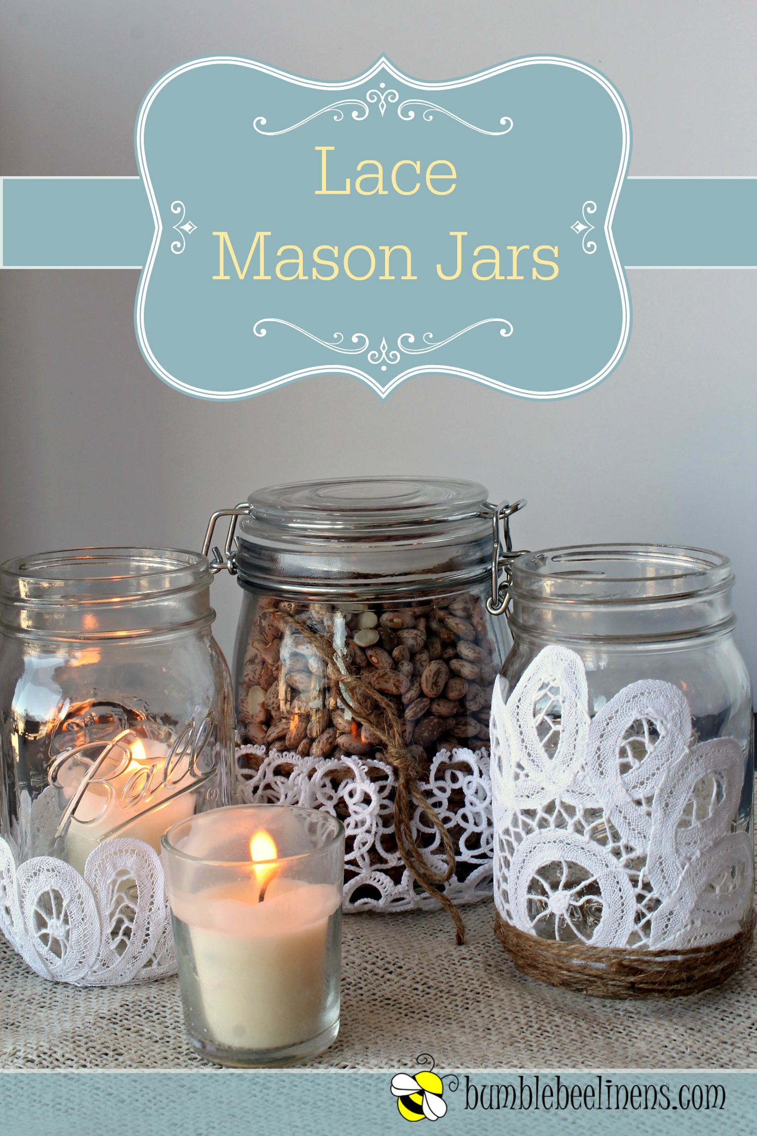 Free-Bee | Sweet Little Wood |Mason Jar Text