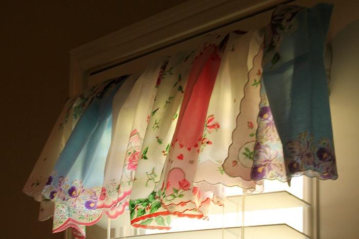 No-Sew Handkerchief Valance | Bumblebee Linens