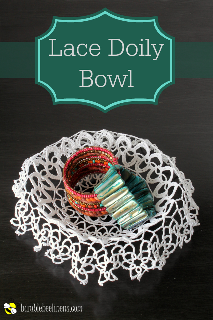 Lace Doily Bowl process main