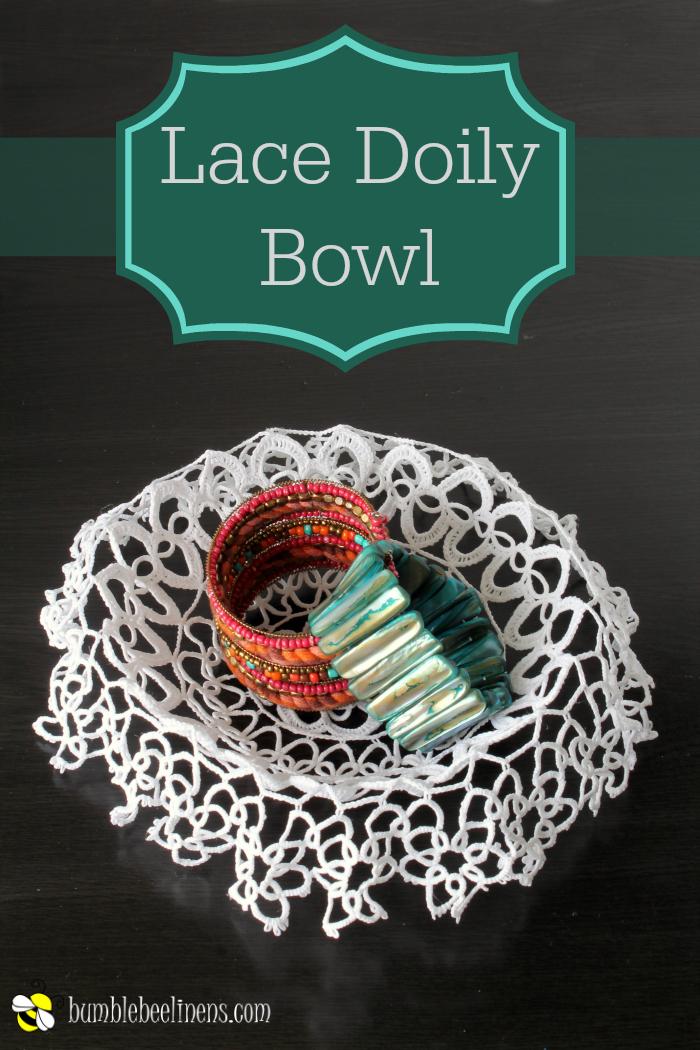 Lace Doily Bowl process main