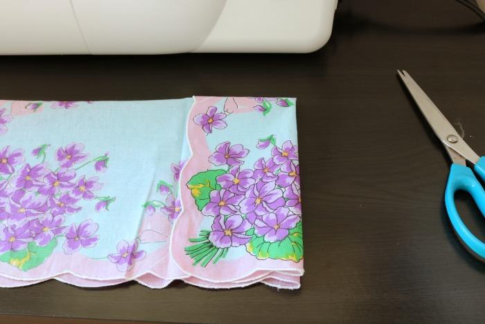 Handkerchief Bib Process 2
