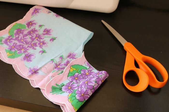 Handkerchief Bib Process 3