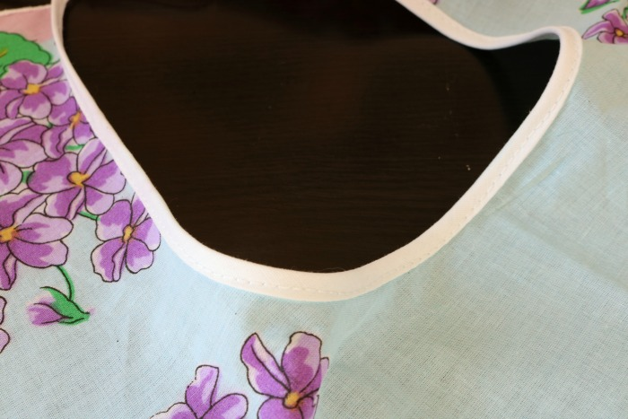 Handkerchief Bib Process 8
