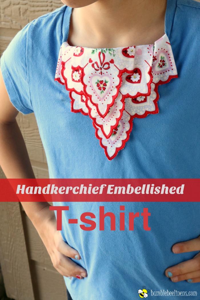 Handkerchief Embellished Tshirt MAIN