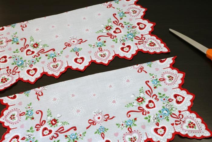 Handkerchief Embellished Tshirt Process 2