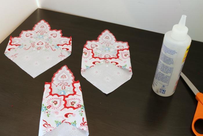 Handkerchief Embellished Tshirt Process 6