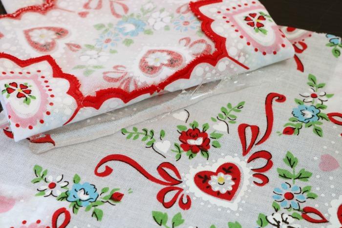 Handkerchief Embellished Tshirt Process 7