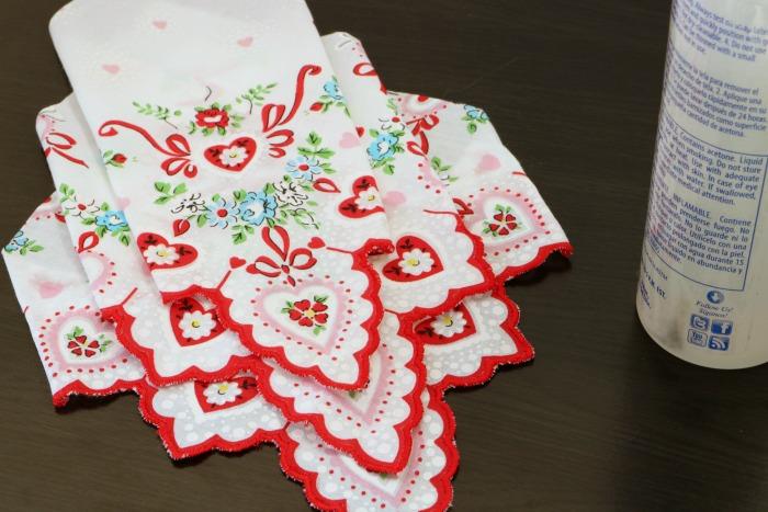 Handkerchief Embellished Tshirt Process 8