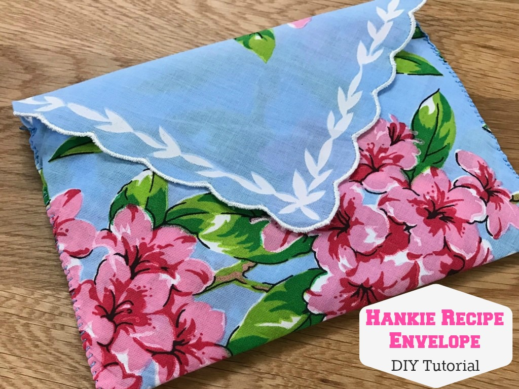 Handkerchief recipe envelope diy tutorial bumblebee linens hankierecipecover junglespirit Image collections