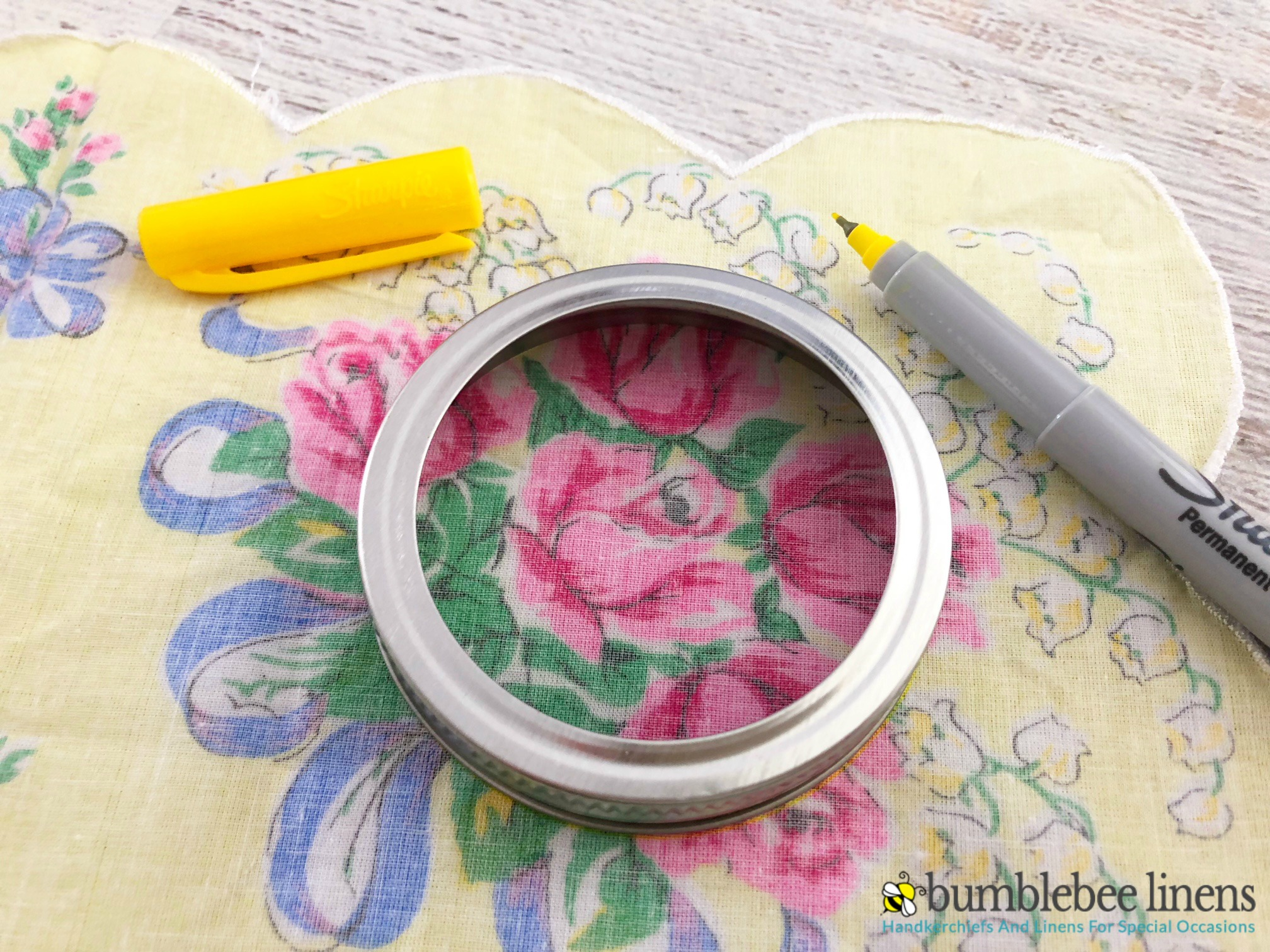 These DIY Mason Jar Lid Sun Catchers are a perfect way to brighten up any room and bring a little sunshine in.