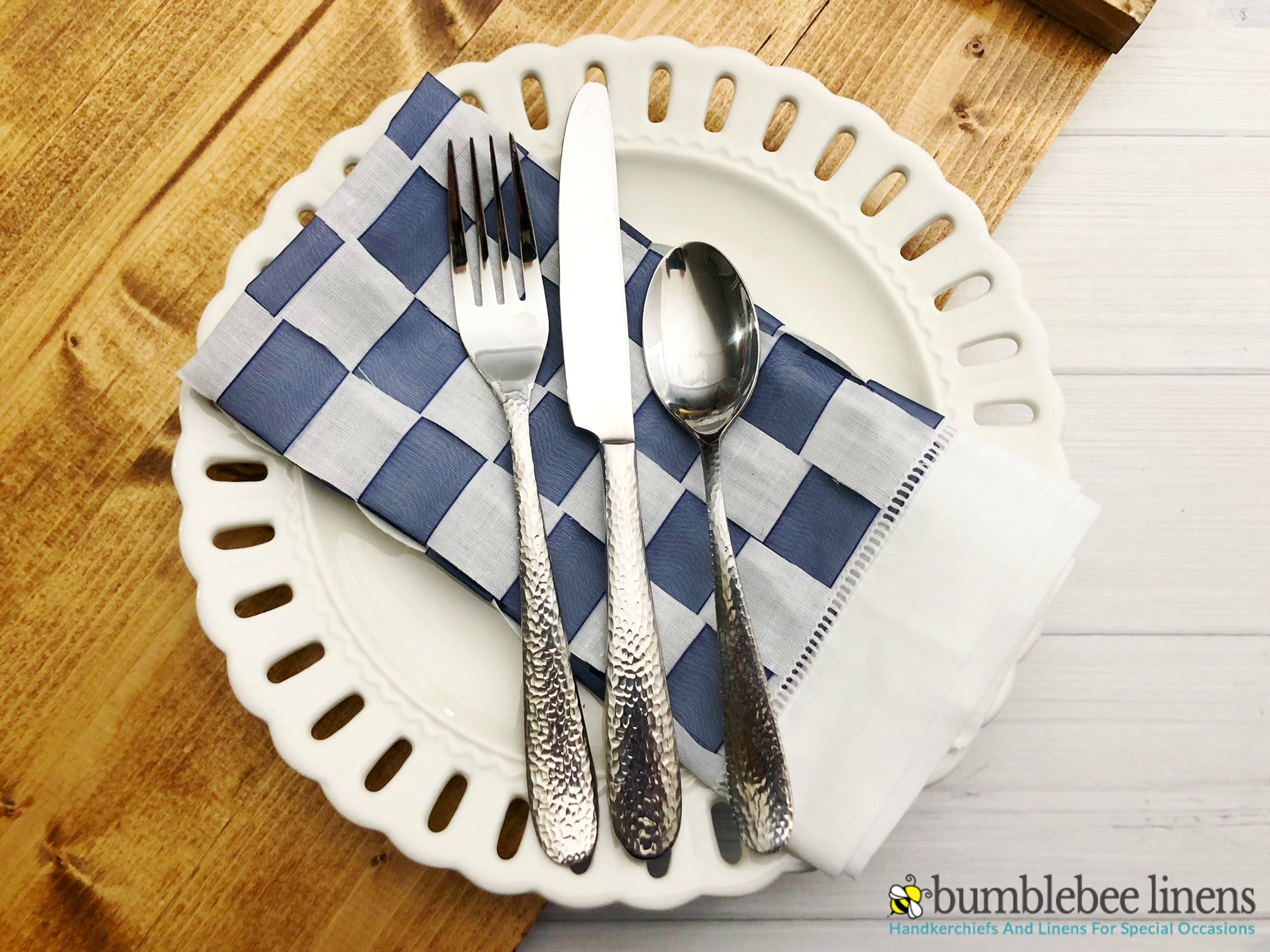 Learn How to Weave Fabric Napkins with just a few materials and a couple easy steps.