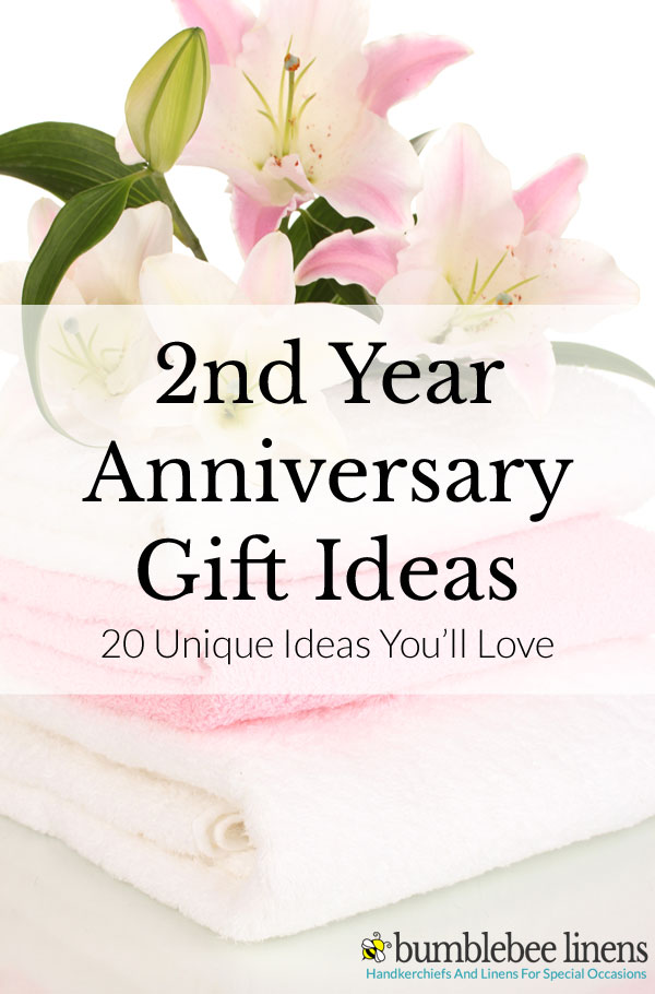 2nd year anniversary gift ideas for him and her