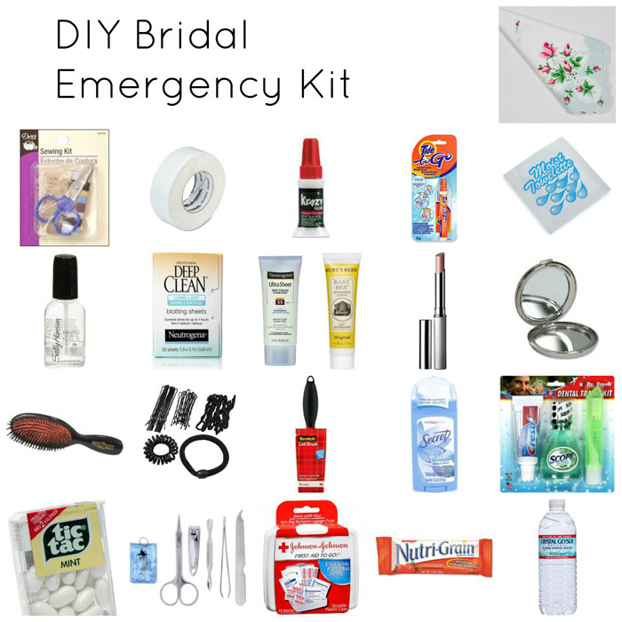 Wedding Day Emergency Kit.Wedding Day Emergency Kit A Must Have Checklist For Brides
