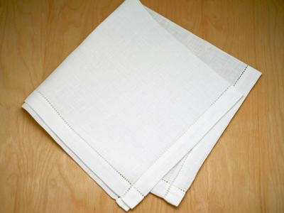 Irish Linen Mens Pinspoke Handkerchief