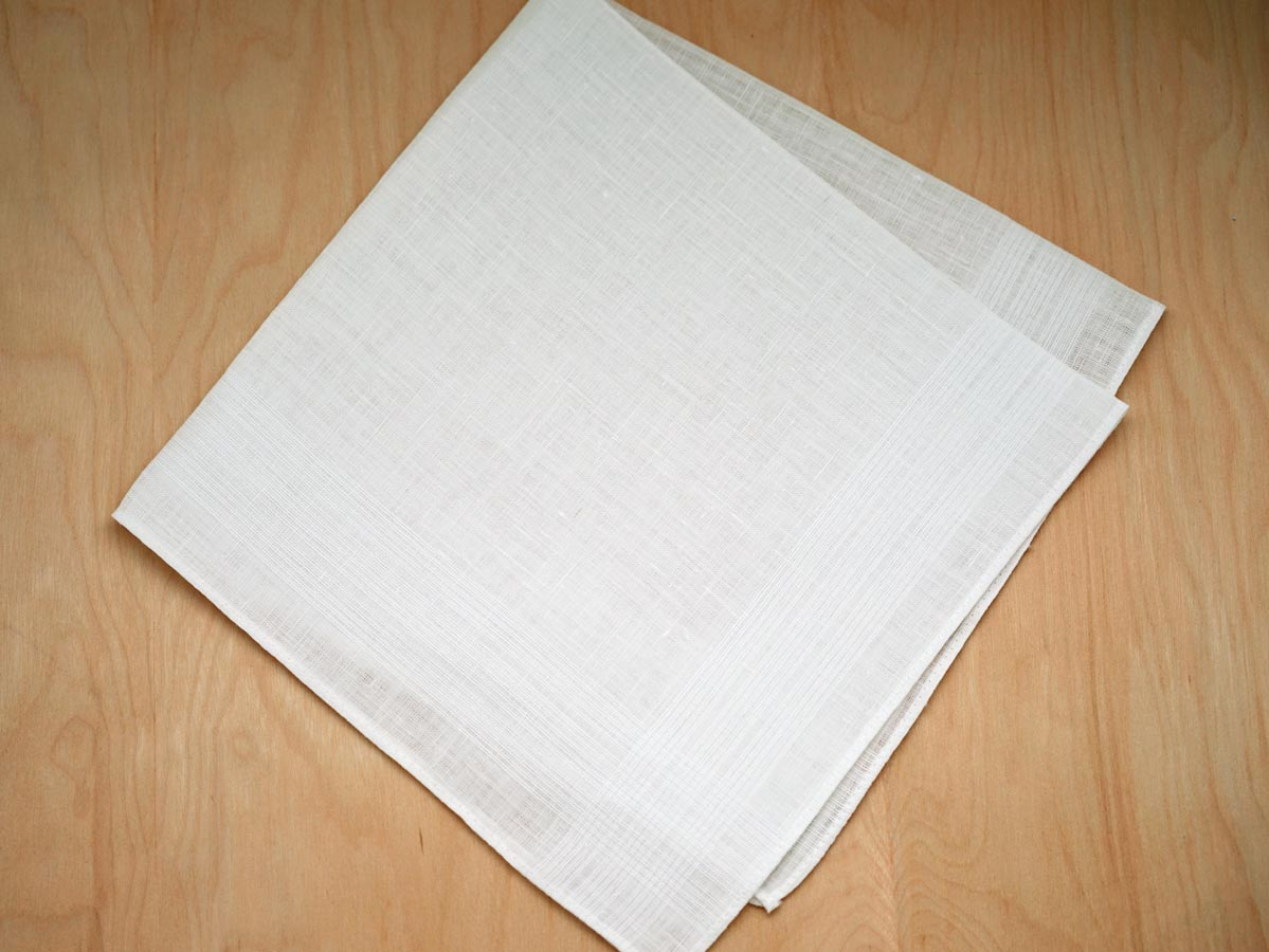Irish Linen Mens Handkerchief