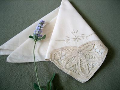 Image result for lace napkins