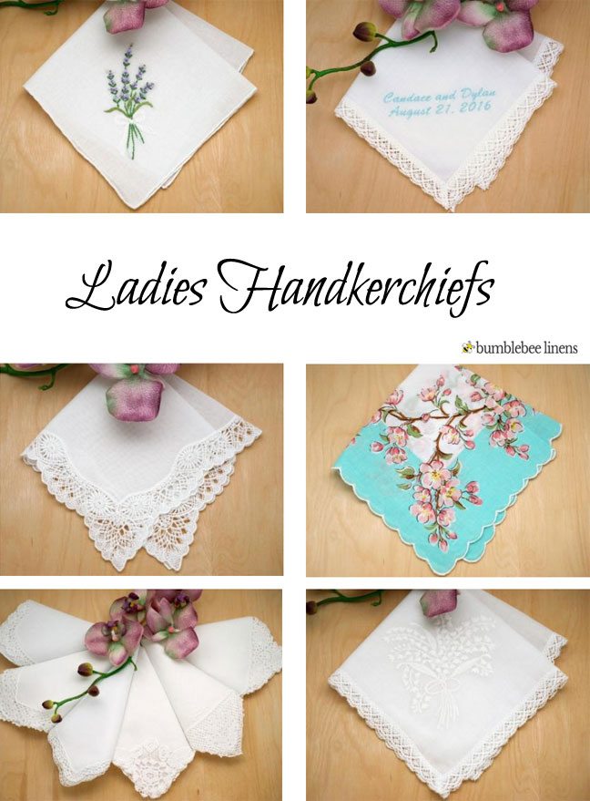 Ladies handkerchiefs ladies hankies womens handkerchiefs junglespirit Images