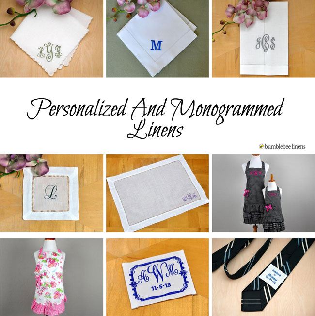 Personalized Linens
