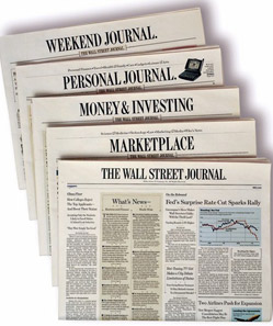 Wall Street Journal Cover