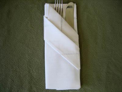 How To Fold Dinner Napkins Napkin Folding Guide