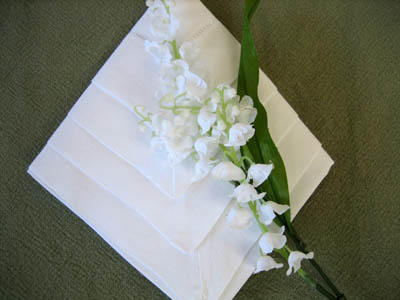 Diamond Arrow Napkin Fold