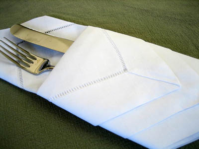 Diamond Envelope Napkin Fold