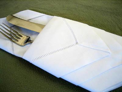 folding dinner napkins instructions