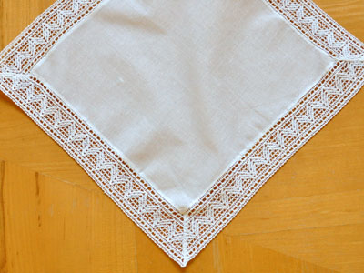 Set of 3 Wedding Bunting Ladies Bridal Handkerchief