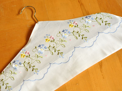 Pillowcase Hanger Cover