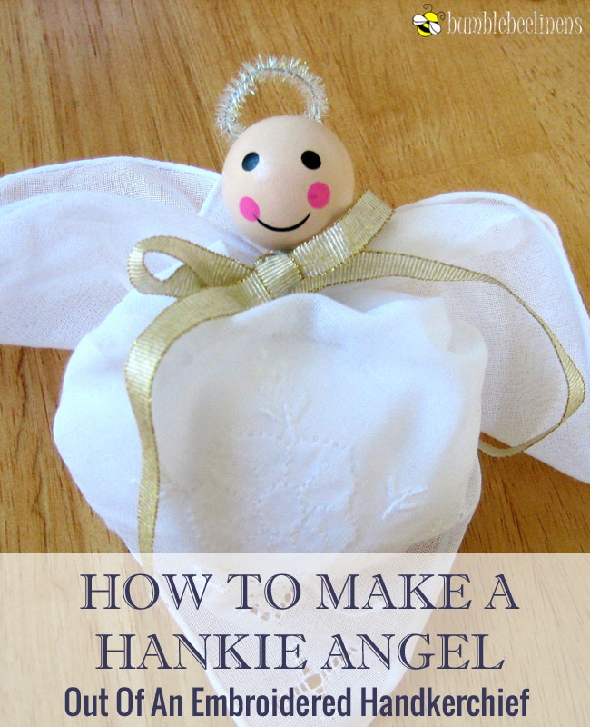 Making a Hankie Angel