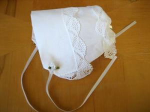 Making a Hankie Bonnet