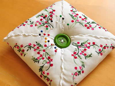 Hankie Pin Cushion