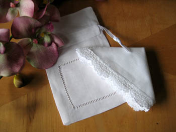 Wedding Hankie Presentation