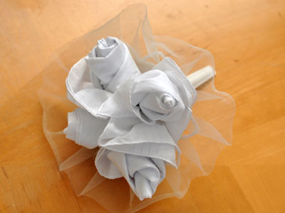 Hankie Rose Bouquet