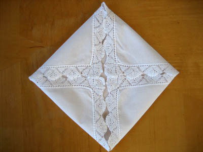 Directions How To Make A Hankie Sachet