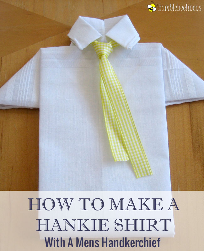 Making a Mens Hankie Shirt