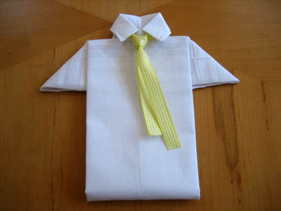 Men's Hankie Shirt