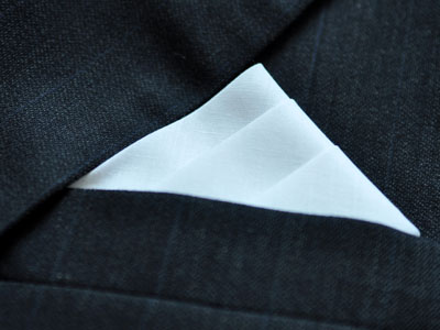 How To Fold Mens Handkerchiefs Pocket Square Folding Guide