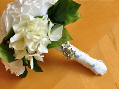 Hankie Bouquet Wrap