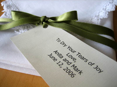 Folding Your Wedding Handkerchief