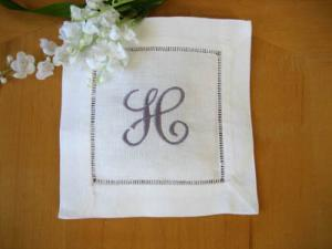 Making a Napkin Scented Sachet