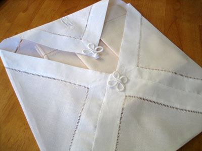 Napkin Storage Pocket