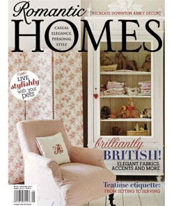 Romantic Homes Cover