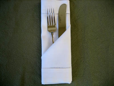 How To Fold Dinner Napkins Napkin Folding Guide